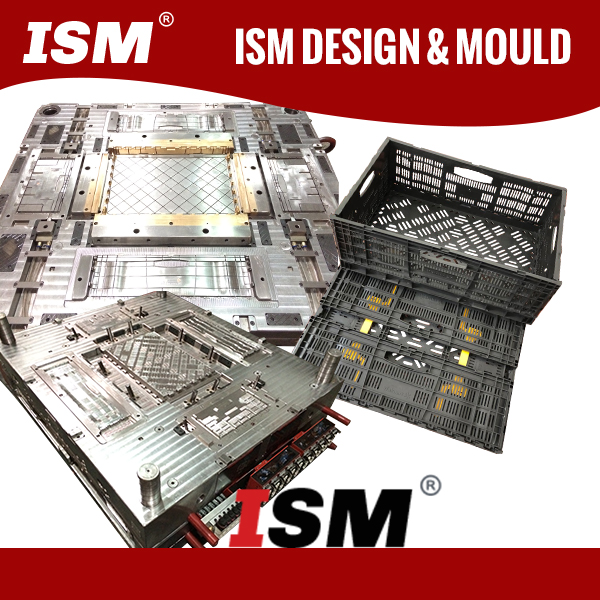 Plastic Collapsible Crate Mould